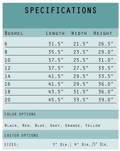 SPECIFICATIONS-CHART---Vinyl-Linen-Carts